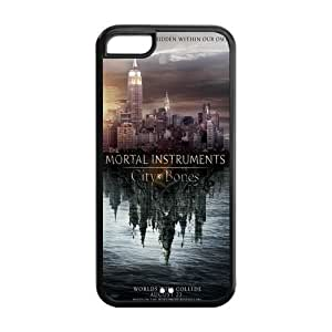 Fashion Mortal Instruments Personalized iPhone 5C Rubber Silicone Case Cover