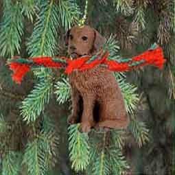 1 X Chesapeake Bay Retriever Miniature Dog Ornament by Conversation Concepts