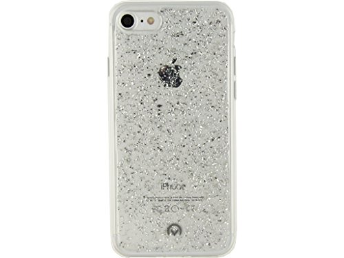 Etui de protection pour telephone Shimmer Case Apple iPhone 7 Argent