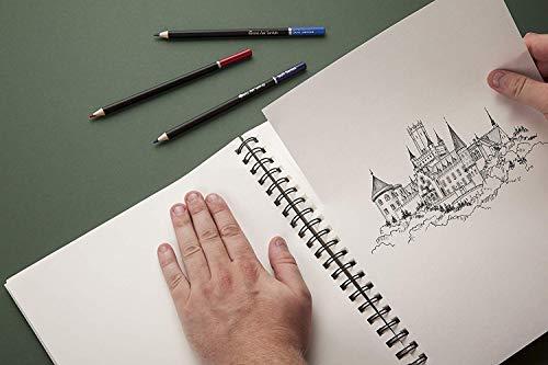Castle Art Supplies Artists Sketch Books (2 Sketch Pad Pack) 9