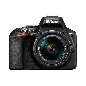 Nikon Kit Reflex numérique D3500 + AFP DX 1855 f/3.55.G VR Noir