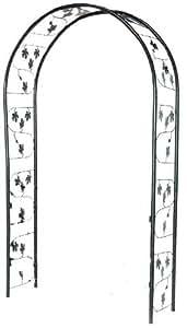 Tierra Garden 36294 Garden Walk Bacchus Steel Arch