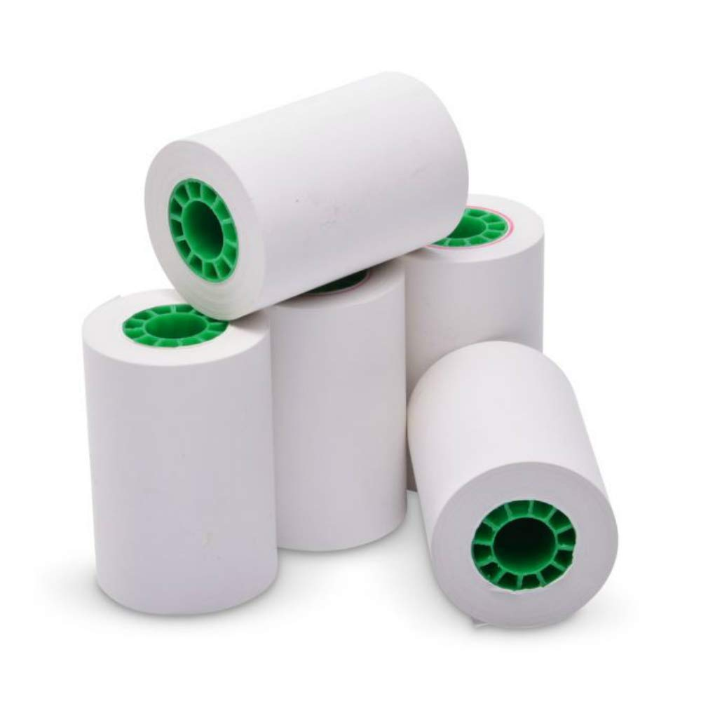 TEK POS Paper 2 1/4'' x 50' Thermal Paper - MADE IN THE USA - BPA Free - 50 Rolls