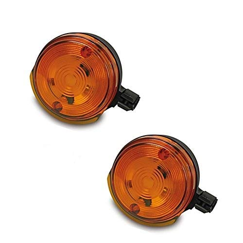 2 x Blinker vorn mit E-Pr/üfzeichen f/ür Simson S50 S51 SR50 MZ 6V 12V SET