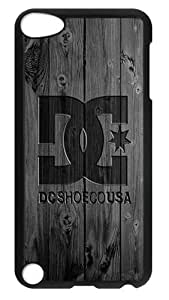 iPod Touch 5 Case, iPod 5 Case - Stylish Dc Design Hard Case Back Cover for Apple iPod Touch 5 / iPod 5th Generation / iPod 5 Black