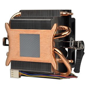 AMD Socket AM3/AM2+/AM2/1207/939/940/754 Copper Base/Alum Heat Sink & 2.75'' Fan w/Heatpipes & 4-Pin Connector by AMD (Image #1)