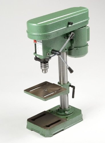 Bench Top Mini Drill Press 5 Speed for Wood or Metal Hobby Table Top by Globe House Products