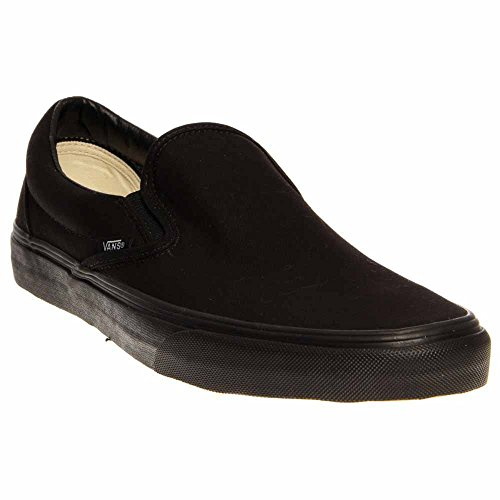 Vans Unisex Black Classic Stivaletti U Adulti on black Slip fUSqfwr