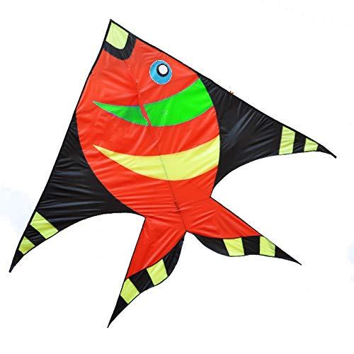 凧,アウトドア玩具 大人用大型子供用そよ風凧、プロ初心者用凧(リール付) スポーツ健康の楽しみ (色 : H h) B07QVDJQFR B  B