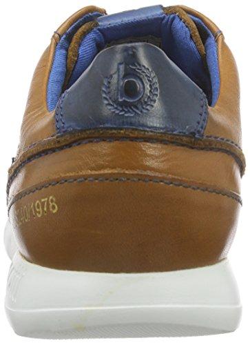 Bugatti Herren K19031 Low-Top Braun (cognac / blau 647)