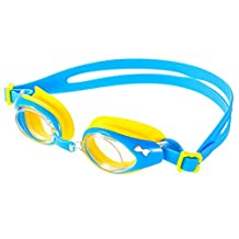 OMorc Kids Swimming Goggles with Anti-Fog Lenses, Soft Silicone Frame and Gaskets, Adjustable Head Strap, Suit for Kids and Early Teens