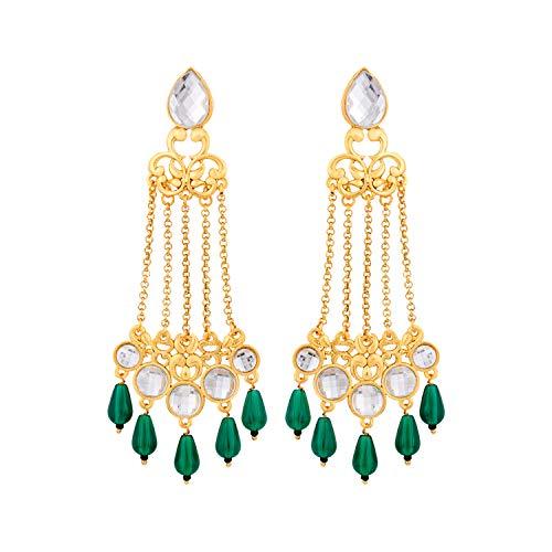 Voylla Noor-Jahan Jhoomar-Kundan Danglers For Women