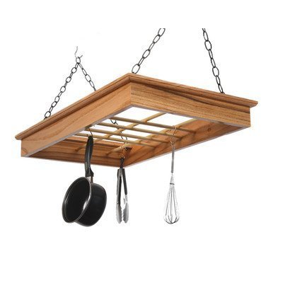 Laurel Highlands Woodshop Hanging Pot and Pan Rack by Laurel Highlands Woodshop