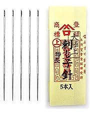 MISUYA-CHUBE Sashiko Naalden 5 Stuks Set