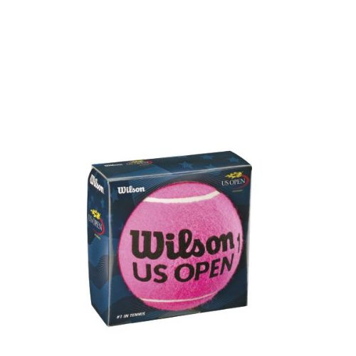 Wilson US Open Mini Jumbo Tennis Ball, Pink