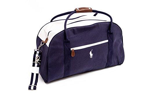sports Large holiday Sac Navy Blue Duffle Le Duffle Bag Lauren gym holdall Ralph Dark BqwC7A1fCx