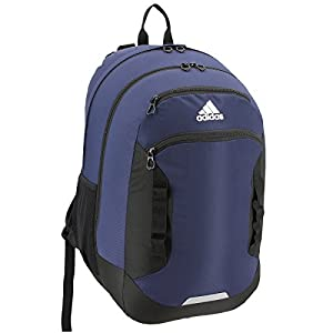 adidas Excel III Backpack, Collegiate Navy/Black/Neo White, One Size