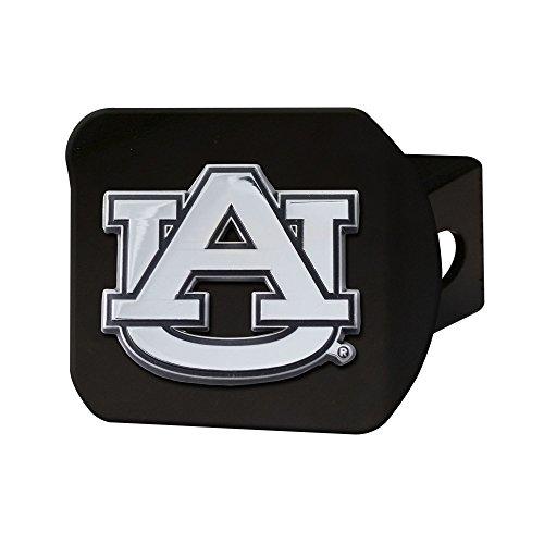 CC Sports Decor NCAA Auburn University Tigers Black Hitch Cover Automotive Accessory ()