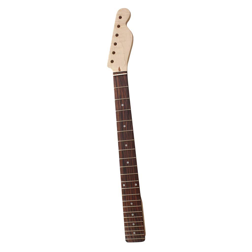 B Blesiya Electric Guitar Neck 22 Frets Fo TL Replacements Fingerboard Fret Board