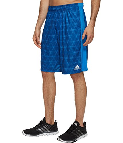 adidas  Men's ClimaCool Triax Shorts Shock Blue (Adidas Climacool Mens Short)