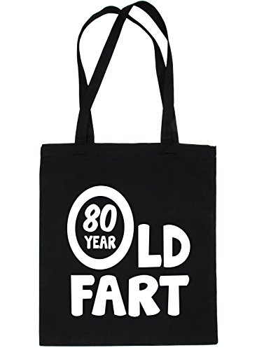 For Year Old Fart Shopping 80 Black Tote Bag Print4u qCpZwtgn