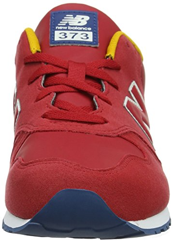 Rouge Mixte New Red Enfant 373 Baskets Balance Pr Yellow Blue wHtxtOqX