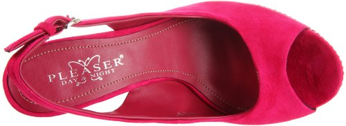 Pleaser Day & Night - Sandalias mujer Fuchsia Suede