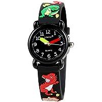 Chicos chicas reloj, niños, impermeable juguete enseñanza reloj profesor de tiempo deporte digital analógico relojes regalos, Running, S