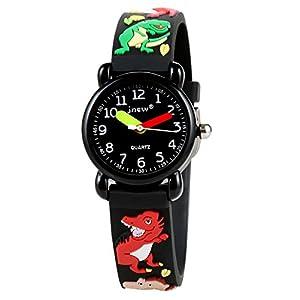 Boys Girls Watch, Kids Waterproof Toy Teaching Watch Time Teacher Sports Analog Digital Watches Gifts