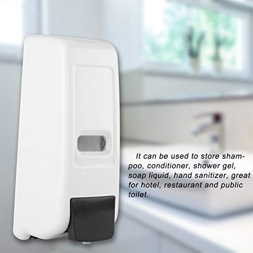 Amazon.com: Gold Happy 600ml Foam Soap Dispenser dispensador de jabon Bathroom Wall Mounted Manual Foam Soap Liquid Dispenser Lotion Shampoo Box Holder: ...