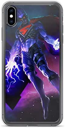 Infinite Crisis Nightmare Super-Man Anti-Scratch Shockproof Clear Case for iPhone 6 Plus/6s Plus