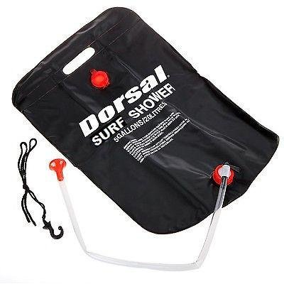 Farmunion Outdoor Camping Solar Energy Heated Camp Shower Pipe Bag Portable 20l/5 by Dorsal