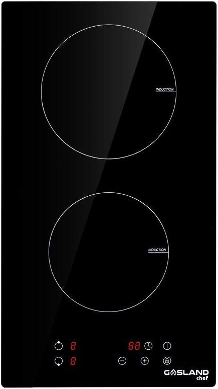 Plaque à Induction Gasland Chef Ih30bf 30cm Table De Cuisson à Induction 2 Foyers 3500w Plaques Noir Toucher Devant Amazon Fr Gros électroménager
