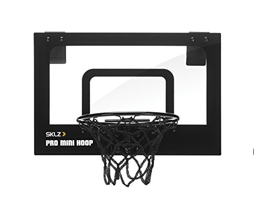 SKLZ Pro Mini Micro Basketball Hoop with Foam Ball (15 x 10 inches)