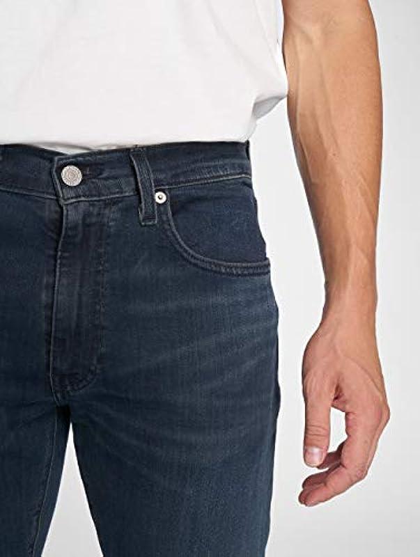 Levis dżinsy męskie 512 Slim Taper Fit 28833-0279 ciemnoniebieskie, rozmiar spodni: 32/34: Odzież