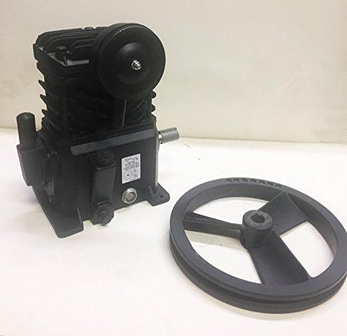 Campbell Hausfeld Cast Iron, Single-Stage Air Compressor Pump - fits Campbell Hausfeld VTXXX Units 3 HP and Above, Model Number VT4923