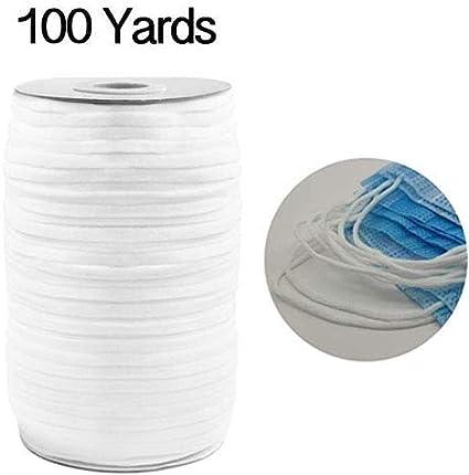 Amazon Com 4mm White Flat Elastic Bands Elastic Cord Stretch