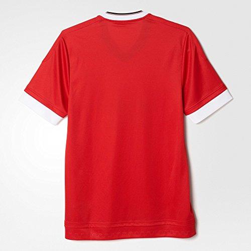 Rojo blanco Mufc H Jsy Para Color Camiseta Az Adidas Hombre 8qfpwxzfR