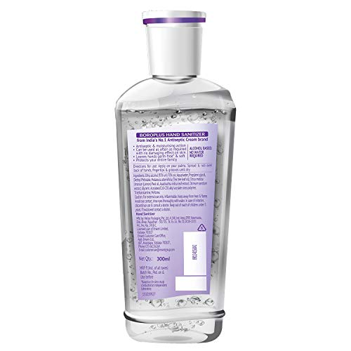 BoroPlus Advanced Anti-Germ Hand Sanitizer, 300ml