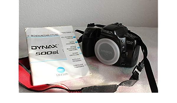 Minolta – Cámara réflex Camera Dynax 500si – Sólo la Body – Cámara ...