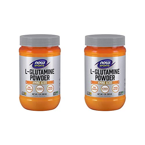 NOW Foods L-Glutamine Pure Powder, 16 Ounce