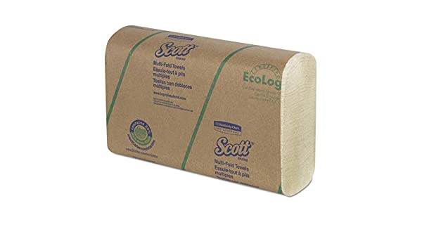 Scott 43751 Multi-Fold Towels, 20% Plant Fiber/Absorbency Pkts, 9 2/5x9 1/5, 250 per Pack (Case of 16 Packs): Amazon.com: Industrial & Scientific