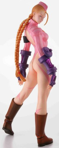 Capcom Street Fighter Zero3 Cammy 1/6 Scale Painted Statue(Pink Version) by Kaiyodo