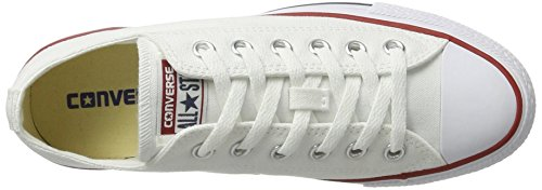 Bianco White AS Optical Can Sneaker Unisex Converse 1J793 Erwachsene Hi charcoal PTw88qU