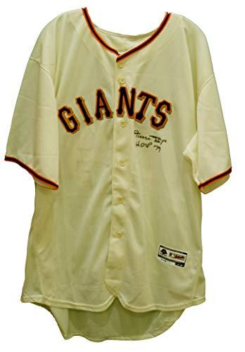 - Willie Mays San Francisco Giants Signed Autographed Cream #24 Jersey Athlete Hologram COA