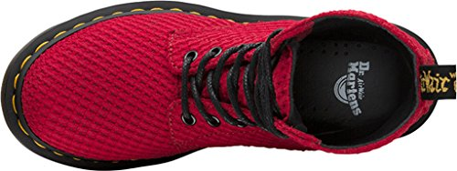 Dr. Martens PAGE Waffle Cotton Dark Red Rot 8-Loch 22138608 Rot (dark red/waffle cotton)
