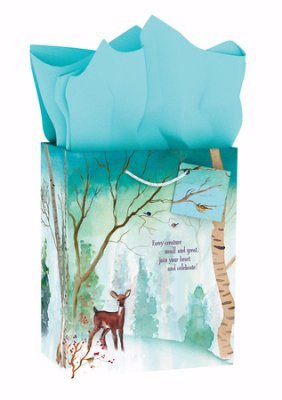 Medium Specialty Gift Bag - Christmas - Happy - Woodland Mall Stores