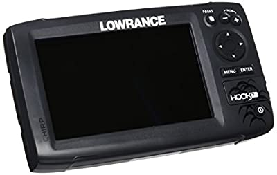 Lowrance Hook-7 Base Sonar/GPS Mid/High/Downscan Fishfinder