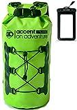 Premium Certified Waterproof Dry Bag Compression Sack Waterproof Phone Case | Roll Top