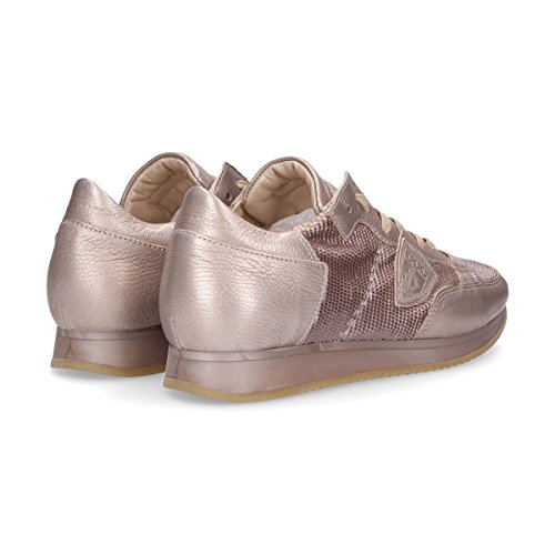 Cuir Rose Model Femme TRLDYX10 Baskets Philippe w6I7FqZK